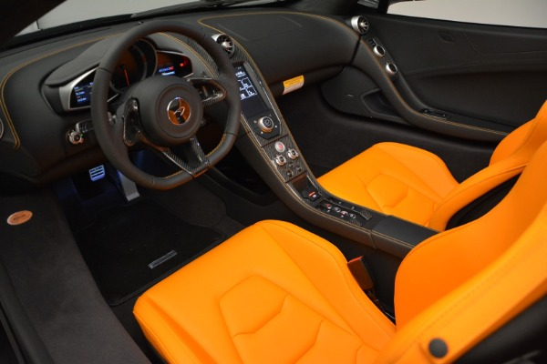 Used 2015 McLaren 650S Spider for sale Sold at Rolls-Royce Motor Cars Greenwich in Greenwich CT 06830 23
