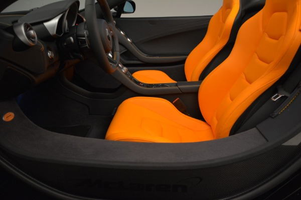 Used 2015 McLaren 650S Spider for sale Sold at Rolls-Royce Motor Cars Greenwich in Greenwich CT 06830 24