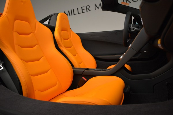 Used 2015 McLaren 650S Spider for sale Sold at Rolls-Royce Motor Cars Greenwich in Greenwich CT 06830 28