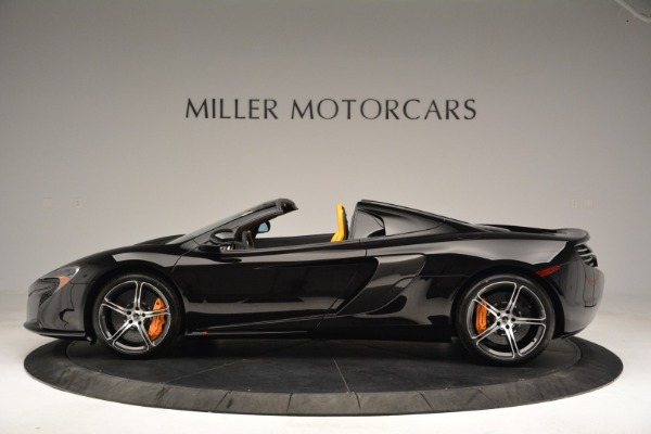 Used 2015 McLaren 650S Spider for sale Sold at Rolls-Royce Motor Cars Greenwich in Greenwich CT 06830 3