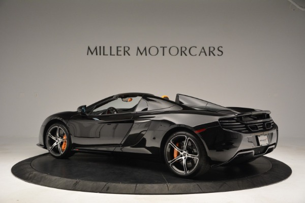 Used 2015 McLaren 650S Spider for sale Sold at Rolls-Royce Motor Cars Greenwich in Greenwich CT 06830 4