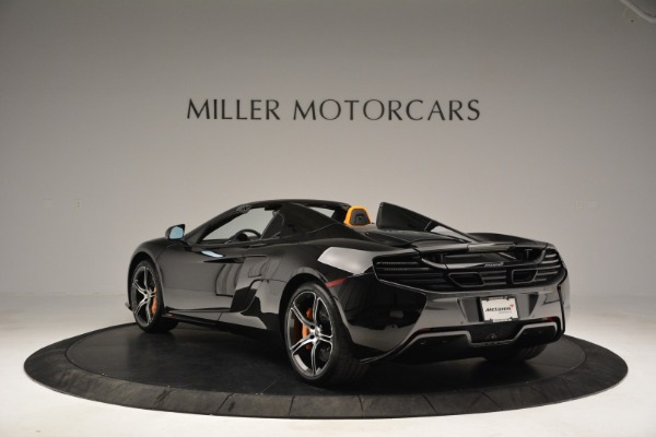 Used 2015 McLaren 650S Spider for sale Sold at Rolls-Royce Motor Cars Greenwich in Greenwich CT 06830 5