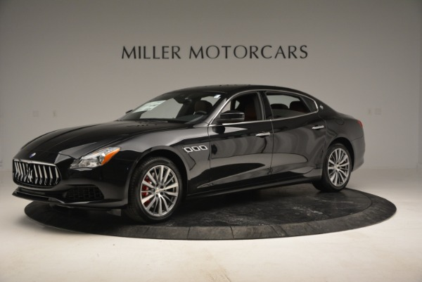 New 2018 Maserati Quattroporte S Q4 for sale Sold at Rolls-Royce Motor Cars Greenwich in Greenwich CT 06830 2