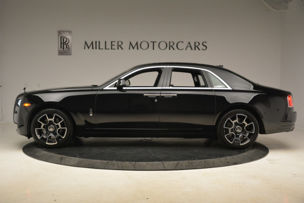 Used 2017 Rolls-Royce Ghost Black Badge for sale Sold at Rolls-Royce Motor Cars Greenwich in Greenwich CT 06830 2
