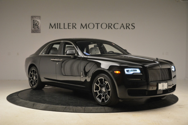 Used 2017 Rolls-Royce Ghost Black Badge for sale Sold at Rolls-Royce Motor Cars Greenwich in Greenwich CT 06830 9