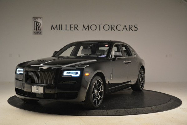 Used 2017 Rolls-Royce Ghost Black Badge for sale Sold at Rolls-Royce Motor Cars Greenwich in Greenwich CT 06830 1