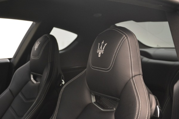 Used 2016 Maserati GranTurismo Sport for sale $61,900 at Rolls-Royce Motor Cars Greenwich in Greenwich CT 06830 18