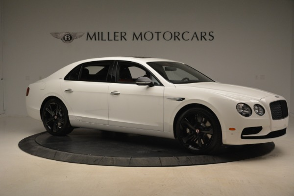 New 2018 Bentley Flying Spur V8 S Black Edition for sale Sold at Rolls-Royce Motor Cars Greenwich in Greenwich CT 06830 10