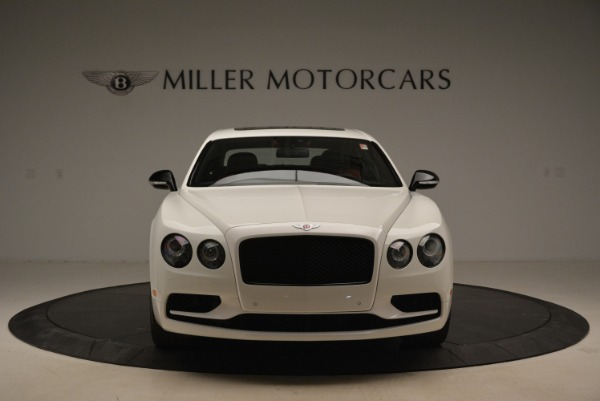 New 2018 Bentley Flying Spur V8 S Black Edition for sale Sold at Rolls-Royce Motor Cars Greenwich in Greenwich CT 06830 12