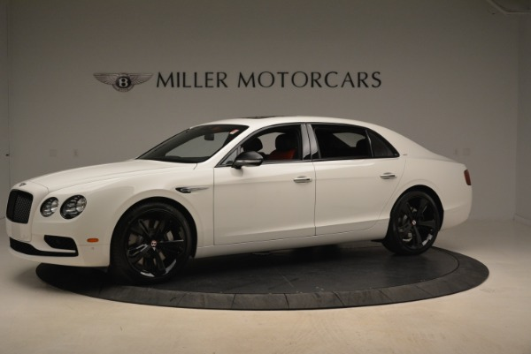 New 2018 Bentley Flying Spur V8 S Black Edition for sale Sold at Rolls-Royce Motor Cars Greenwich in Greenwich CT 06830 2