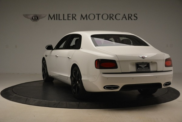 New 2018 Bentley Flying Spur V8 S Black Edition for sale Sold at Rolls-Royce Motor Cars Greenwich in Greenwich CT 06830 5