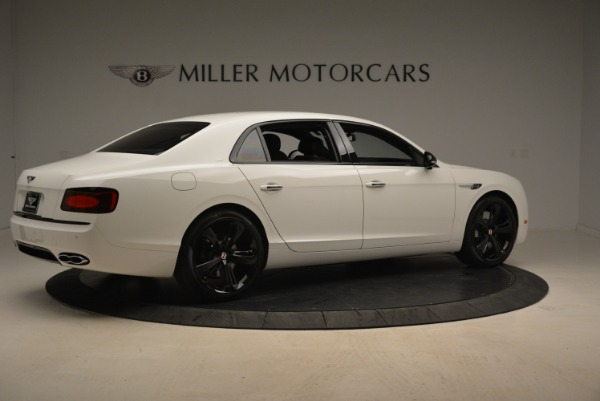 New 2018 Bentley Flying Spur V8 S Black Edition for sale Sold at Rolls-Royce Motor Cars Greenwich in Greenwich CT 06830 8