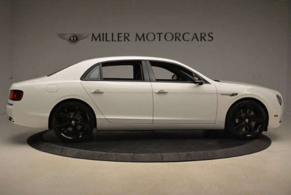 New 2018 Bentley Flying Spur V8 S Black Edition for sale Sold at Rolls-Royce Motor Cars Greenwich in Greenwich CT 06830 9