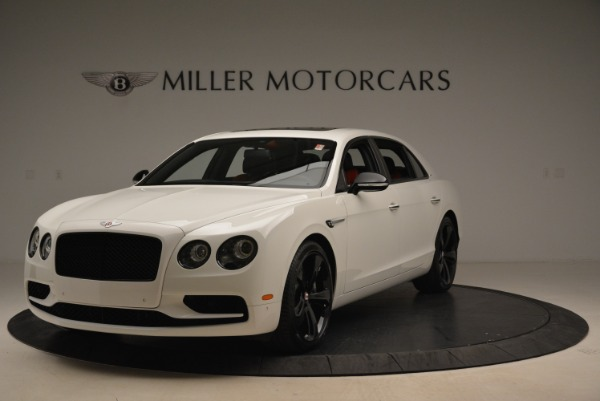 New 2018 Bentley Flying Spur V8 S Black Edition for sale Sold at Rolls-Royce Motor Cars Greenwich in Greenwich CT 06830 1