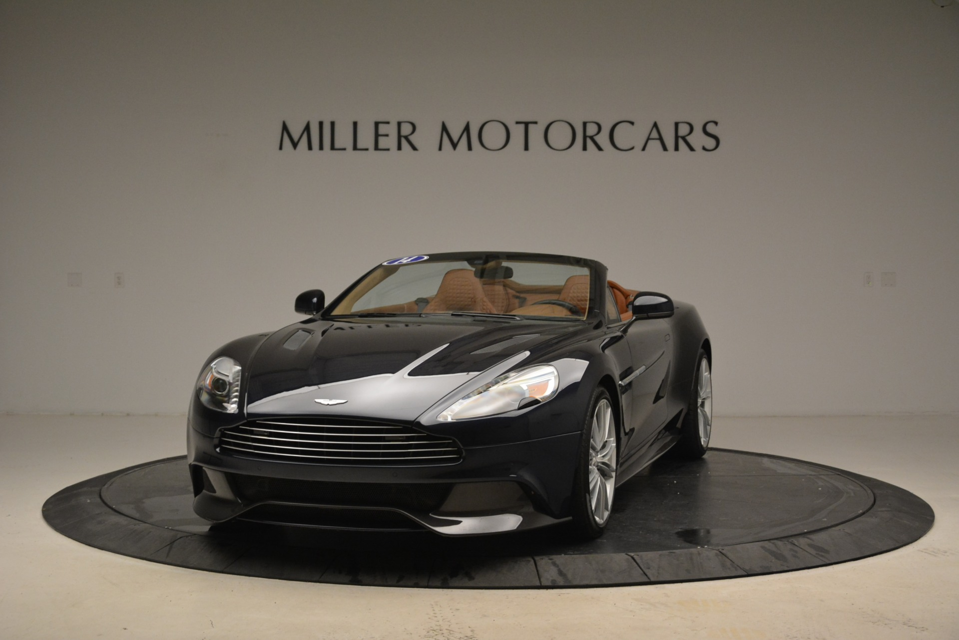 Used 2014 Aston Martin Vanquish Volante for sale Sold at Rolls-Royce Motor Cars Greenwich in Greenwich CT 06830 1
