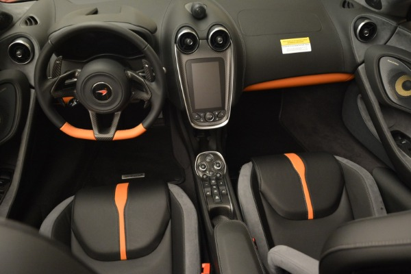 New 2018 McLaren 570S Spider for sale Sold at Rolls-Royce Motor Cars Greenwich in Greenwich CT 06830 28