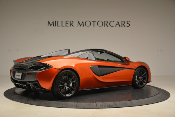 New 2018 McLaren 570S Spider for sale Sold at Rolls-Royce Motor Cars Greenwich in Greenwich CT 06830 8