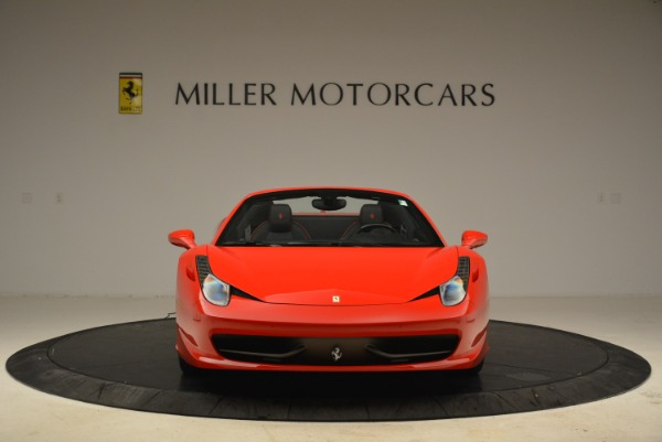 Used 2014 Ferrari 458 Spider for sale Sold at Rolls-Royce Motor Cars Greenwich in Greenwich CT 06830 12