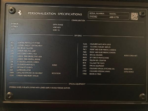Used 2016 Ferrari 488 GTB for sale Sold at Rolls-Royce Motor Cars Greenwich in Greenwich CT 06830 21