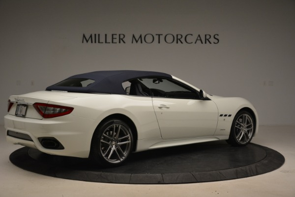 New 2018 Maserati GranTurismo Sport Convertible for sale Sold at Rolls-Royce Motor Cars Greenwich in Greenwich CT 06830 21