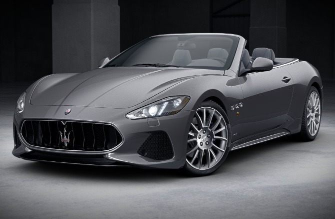 New 2018 Maserati GranTurismo Sport Convertible for sale Sold at Rolls-Royce Motor Cars Greenwich in Greenwich CT 06830 1
