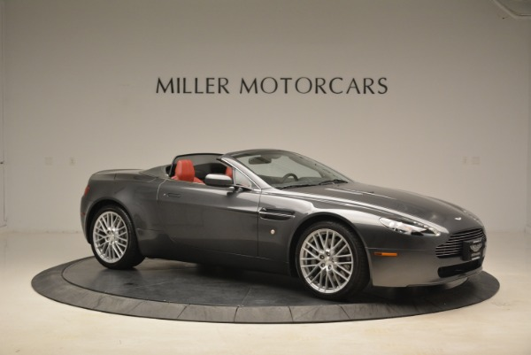 Used 2009 Aston Martin V8 Vantage Roadster for sale Sold at Rolls-Royce Motor Cars Greenwich in Greenwich CT 06830 10