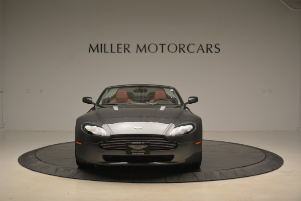 Used 2009 Aston Martin V8 Vantage Roadster for sale Sold at Rolls-Royce Motor Cars Greenwich in Greenwich CT 06830 12