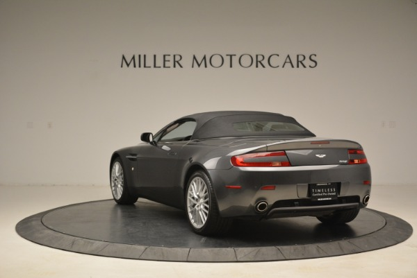 Used 2009 Aston Martin V8 Vantage Roadster for sale Sold at Rolls-Royce Motor Cars Greenwich in Greenwich CT 06830 17