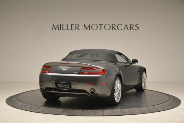 Used 2009 Aston Martin V8 Vantage Roadster for sale Sold at Rolls-Royce Motor Cars Greenwich in Greenwich CT 06830 19