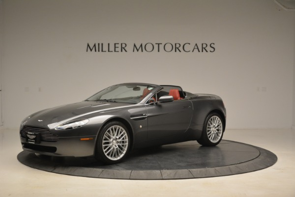 Used 2009 Aston Martin V8 Vantage Roadster for sale Sold at Rolls-Royce Motor Cars Greenwich in Greenwich CT 06830 2