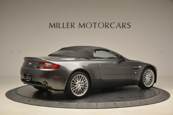 Used 2009 Aston Martin V8 Vantage Roadster for sale Sold at Rolls-Royce Motor Cars Greenwich in Greenwich CT 06830 20