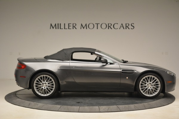 Used 2009 Aston Martin V8 Vantage Roadster for sale Sold at Rolls-Royce Motor Cars Greenwich in Greenwich CT 06830 21
