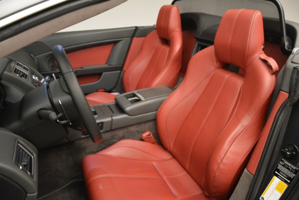 Used 2009 Aston Martin V8 Vantage Roadster for sale Sold at Rolls-Royce Motor Cars Greenwich in Greenwich CT 06830 28