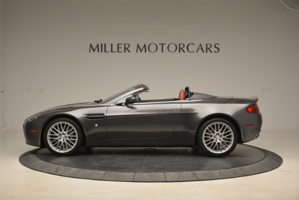 Used 2009 Aston Martin V8 Vantage Roadster for sale Sold at Rolls-Royce Motor Cars Greenwich in Greenwich CT 06830 3