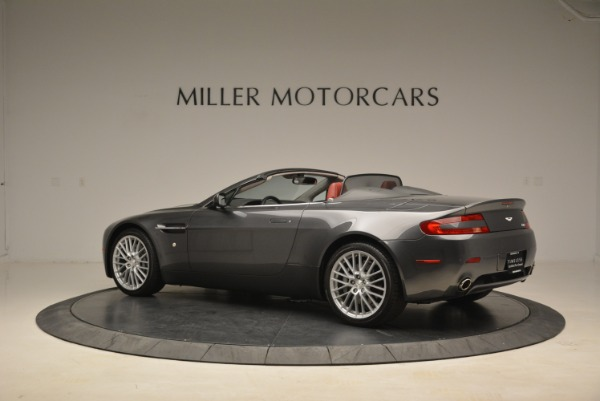 Used 2009 Aston Martin V8 Vantage Roadster for sale Sold at Rolls-Royce Motor Cars Greenwich in Greenwich CT 06830 4