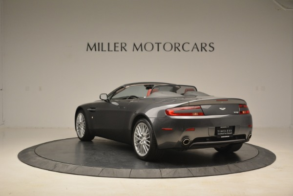 Used 2009 Aston Martin V8 Vantage Roadster for sale Sold at Rolls-Royce Motor Cars Greenwich in Greenwich CT 06830 5