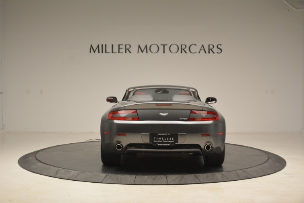 Used 2009 Aston Martin V8 Vantage Roadster for sale Sold at Rolls-Royce Motor Cars Greenwich in Greenwich CT 06830 6