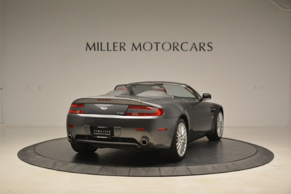 Used 2009 Aston Martin V8 Vantage Roadster for sale Sold at Rolls-Royce Motor Cars Greenwich in Greenwich CT 06830 7