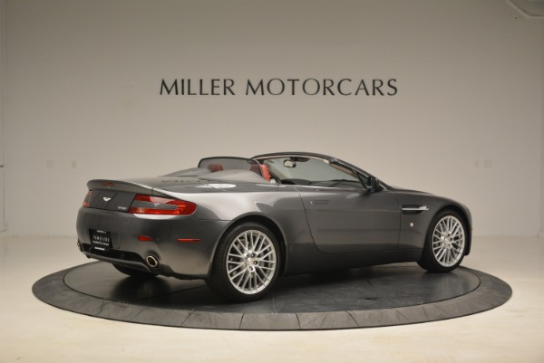 Used 2009 Aston Martin V8 Vantage Roadster for sale Sold at Rolls-Royce Motor Cars Greenwich in Greenwich CT 06830 8