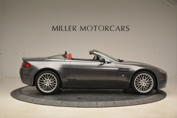Used 2009 Aston Martin V8 Vantage Roadster for sale Sold at Rolls-Royce Motor Cars Greenwich in Greenwich CT 06830 9