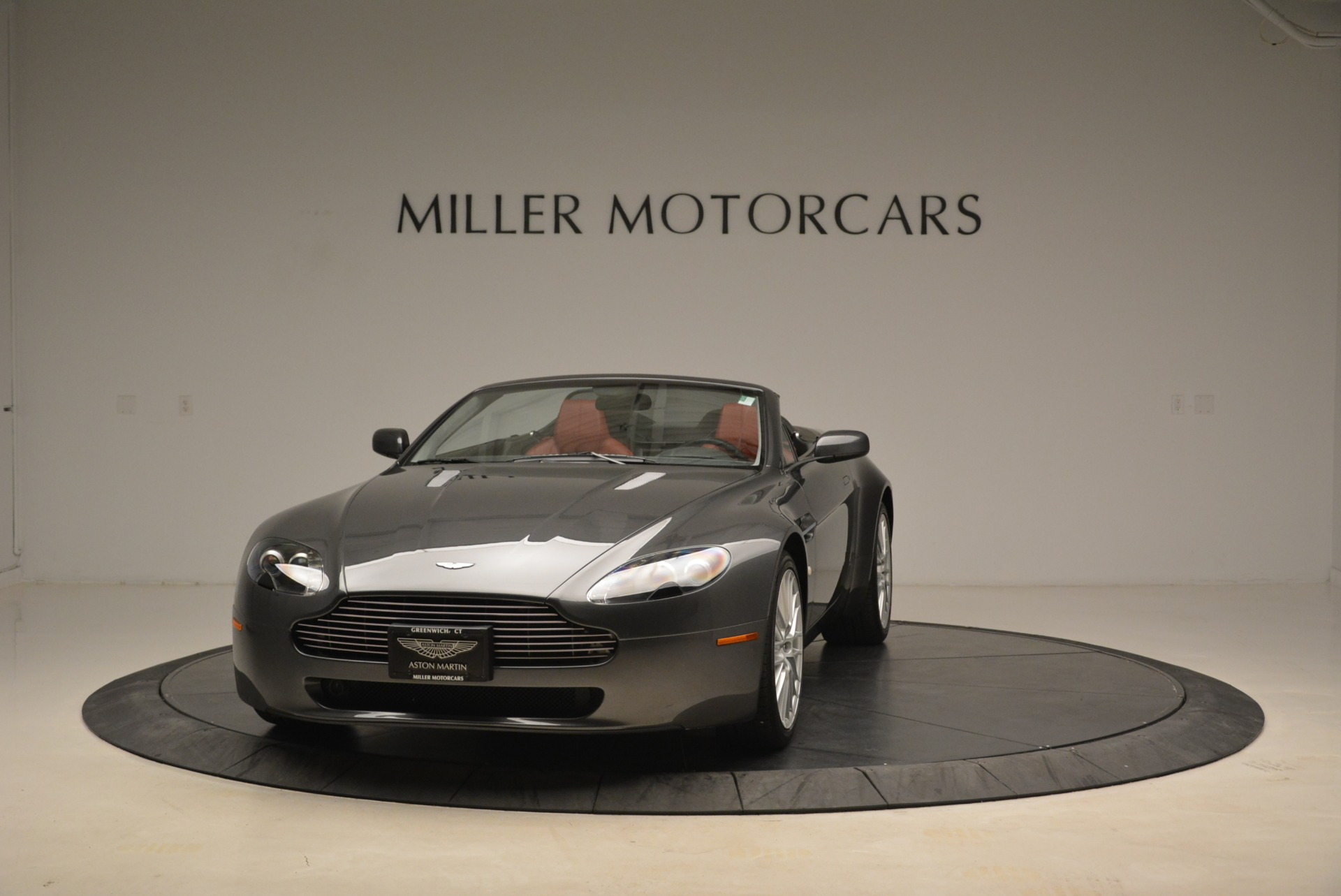 Used 2009 Aston Martin V8 Vantage Roadster for sale Sold at Rolls-Royce Motor Cars Greenwich in Greenwich CT 06830 1