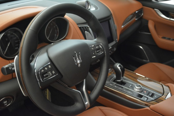 New 2018 Maserati Levante S Q4 GranLusso for sale Sold at Rolls-Royce Motor Cars Greenwich in Greenwich CT 06830 15