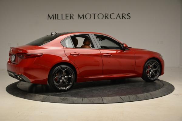 New 2018 Alfa Romeo Giulia Ti Sport Q4 for sale Sold at Rolls-Royce Motor Cars Greenwich in Greenwich CT 06830 8