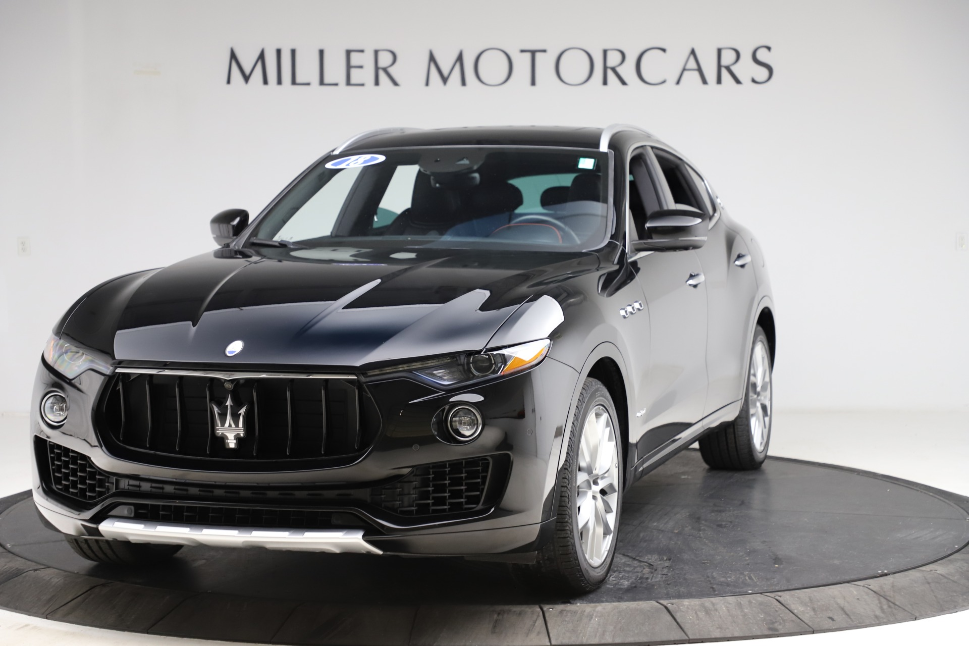 Used 2018 Maserati Levante Q4 GranSport for sale $53,900 at Rolls-Royce Motor Cars Greenwich in Greenwich CT 06830 1