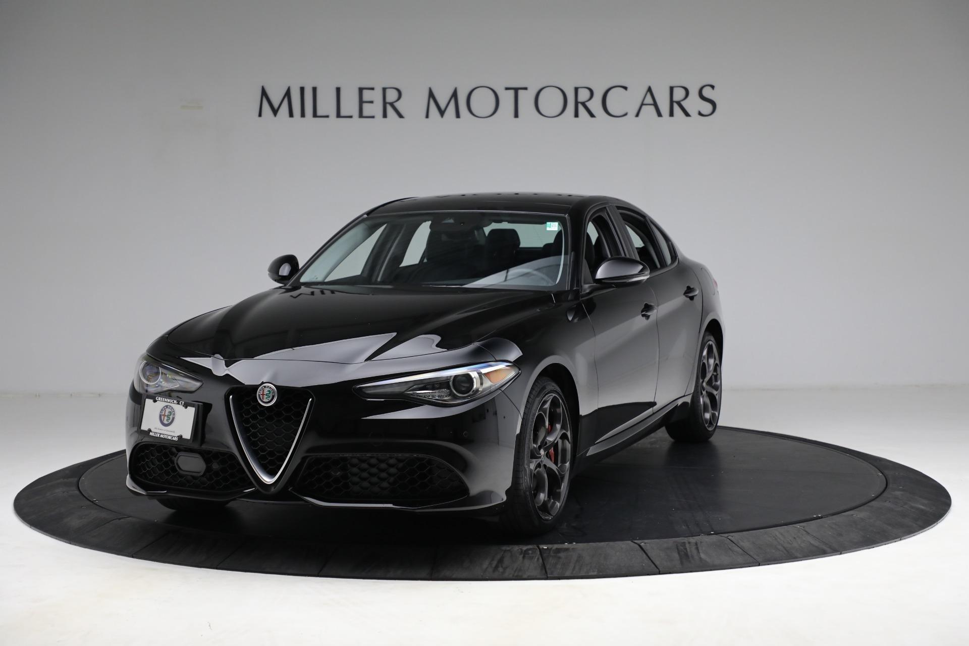 Used 2018 Alfa Romeo Giulia Ti Sport Q4 for sale $34,900 at Rolls-Royce Motor Cars Greenwich in Greenwich CT 06830 1