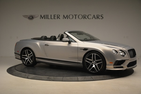Used 2018 Bentley Continental GT Supersports Convertible for sale Sold at Rolls-Royce Motor Cars Greenwich in Greenwich CT 06830 10