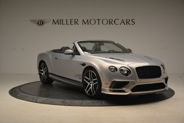 Used 2018 Bentley Continental GT Supersports Convertible for sale Sold at Rolls-Royce Motor Cars Greenwich in Greenwich CT 06830 11