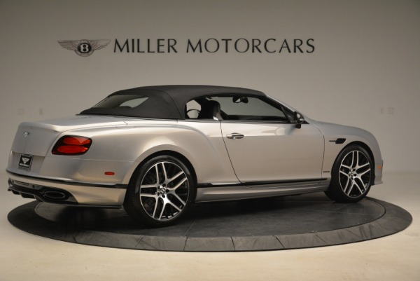 Used 2018 Bentley Continental GT Supersports Convertible for sale Sold at Rolls-Royce Motor Cars Greenwich in Greenwich CT 06830 17