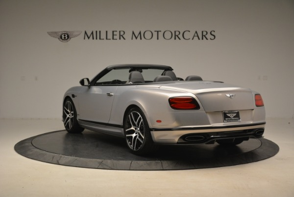 Used 2018 Bentley Continental GT Supersports Convertible for sale Sold at Rolls-Royce Motor Cars Greenwich in Greenwich CT 06830 5