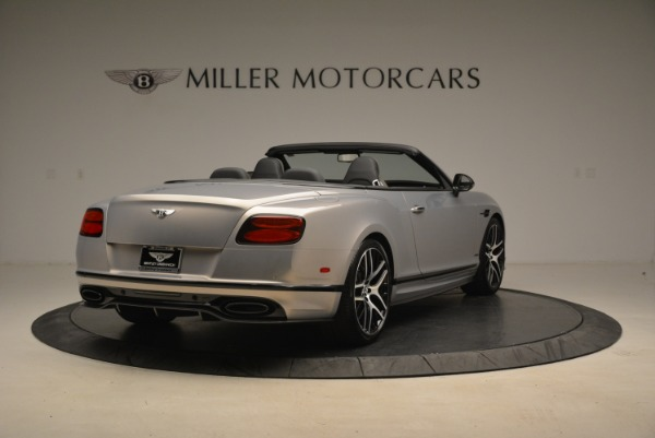Used 2018 Bentley Continental GT Supersports Convertible for sale Sold at Rolls-Royce Motor Cars Greenwich in Greenwich CT 06830 7